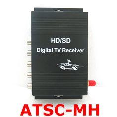 Car ATSC-M/H USA Mobile Digital TV Tuner Receiver 140-190km/h Video 4 ATSC-MH for USA , Free Shipping