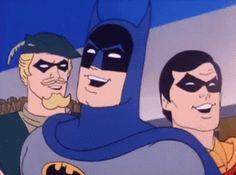 """Reacción de Batman, Robin y otro colega al ver """"Interstellar"""""""