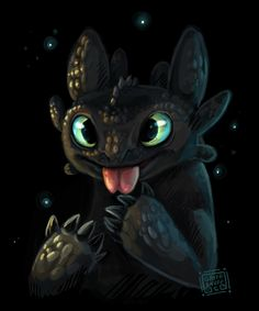 Toothless httyd by =griffsnuff on deviantART <== awww I love this <3