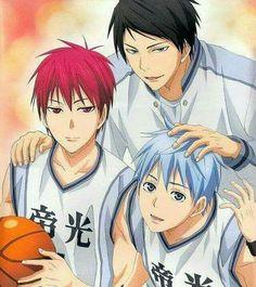 Kuroko no Basket Teiko times Kuroko No Basket, Fanarts Anime, Manga Anime, Kawaii, Boruto, Sailor Moon, Desenhos Love, Kiseki No Sedai, Akakuro