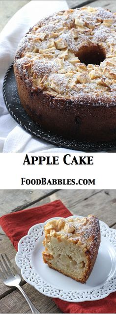 Apple Cake - FoodBabbles.com