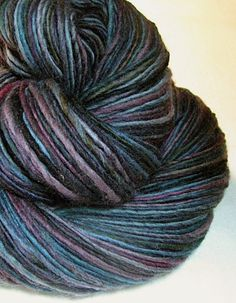 Handspun Yarn Gently Thick and Thin Single by SheepingBeauty, $34.00