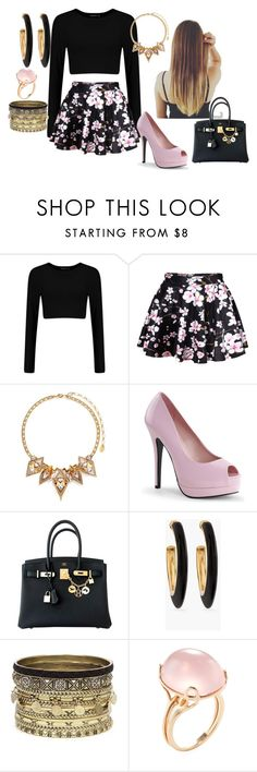 """""""untitled #19"""" by liia23 ❤ liked on Polyvore featuring Erickson Beamon, Hermès, Chico's, Daytrip and Goshwara"""