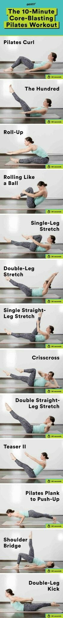 Pilates stomach routine http://whymattress.com/the-ultimate-yoga-guide/