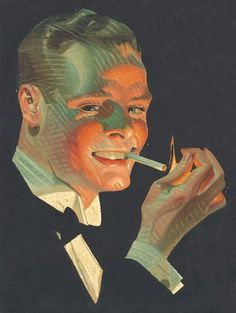 Joseph Christian Leyendecker (1874-1951) - Chesterfield Cigarettes