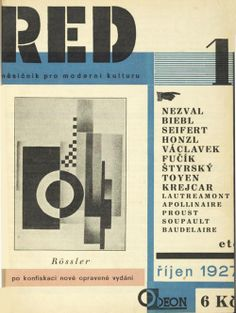 design-is-fine:   Karel Teige, monthly magazine ReD - Revue...