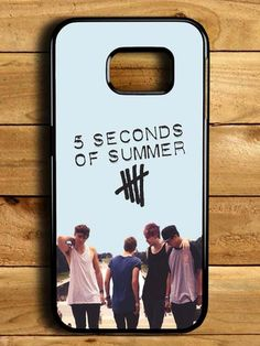 5sos 5 Second Of Summer Band Samsung Galaxy S6 Edge Case
