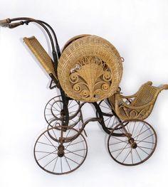 victorian baby strollers | Victorian Wicker Stroller