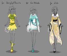 Custom Outfits #14 by Nahemii-san on DeviantArt