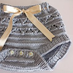 Ravelry: Baby Pants /diaper cover pattern by Julia Noskova