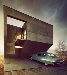 Adam Spychala is an architect from Poland. His series of consecutively…