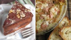 Football food fight! Seattle's wild salmon vs. Denver's bourbon cake