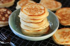 Yoghurt Snack Pancakes - great way to use extra yogurt or sneak some calcium into your kids' diet!
