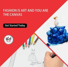 Fashion Is Art And You Are The Canvas!!  Don't waste your time. #JoinIIFD Today!!!  Visit: www.iifd.in or Call Us Today @ 9041766699 For FREE Consultancy.  #AdmissionOpen2017 #IIFD #Chandigarh #FashionDesigning #Fashion #Designing