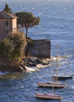 Moored Boats, Varenna, Lake Como by Rita Crane Photography on Flickr.