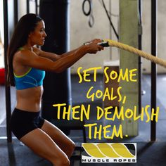 Conquer your goals with Muscle Ropes! --> http://muscleropes.com/workouts/