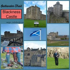 Outlander Trail Blackness Castle aka Wentworth Prison where Jamie is flogged by Black Jack Randall in Series 1 of Outlander