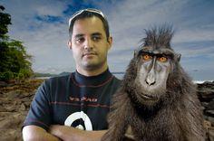 Juan Pablo Montoya and friend...