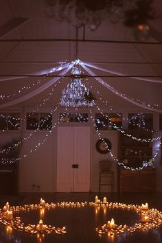 Surprise proposal amidst fairy lights and a circle of five hundred lit candles Perfect Proposal, Surprise Proposal, Proposal Ideas, Wedding Stuff, Dream Wedding, Wedding Ideas, Best Proposals, Party Themes, Party Ideas