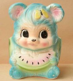 Kitsch, Chinoiserie, Plywood Furniture, Hollywood Regency, Cute Fantasy Creatures, Vintage Soul, Vintage Planters, Retro Toys, Designer Toys