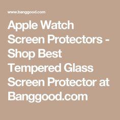 Apple Watch Screen Protectors - Shop Best Tempered Glass Screen Protector at Banggood.com
