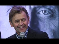 Mikhail Baryshnikov at a press conference in Buenos Aires. September 6, 2017