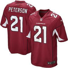 Men Nike Arizona Cardinals #21 Patrick Peterson Limited Red Team Color NFL Jersey Sale