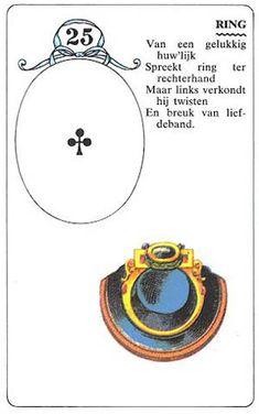 Orakelkaarten - Online orakels - Mme Lenormandkaarten  Verbinding Huwelijk 24 12 14 Vroeg over Twin of samen goed kan gaan