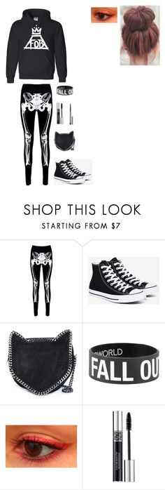 """""""Untitled #29"""" by killjoy2004 ❤ liked on Polyvore featuring Boohoo, Converse, STELLA McCARTNEY, Christian Dior and Ilia"""