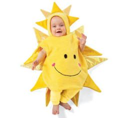 Pretty sure Ainsley should be a sunshine for Halloween.
