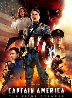 #CaptainAmerica - The First Avenger (2011)
