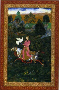 Ibrahim Adil Shah II Hawking Bijapur C1600