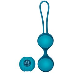 @calexotics KEY by Jopen Mini Stella II Double Kegel Ball Set Blue $31 Squeeze Me tight. You can rise to new heights with these new, smaller dual kegel balls. A mind blowing, make you wake up the neighbors good time. The Mini Stella II Double Ball set is nearly identical to the larger version in all ways except the size. The Mini Stella II's are perfect to take small steps toward their Kegel exercising…