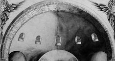 Eastern arch and semi-dome in Hagia Sophia