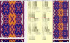46 tarjetas hexagonales, 5 colores, repite cada 24 movimientos // sed_586_c6 diseñado en GTT༺❁
