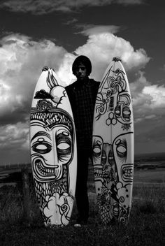 I wanna create a surf board... Design..