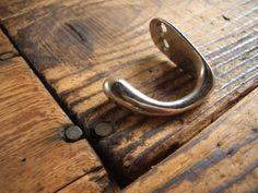 Wall Hook NO.401古い鉄のコート掛け検帽子掛けフック収納アンティーク インテリア 雑貨 家具 Antique ¥210yen 〆06月22日