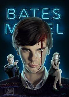Bates Motel by Stevie Ray Thompson, via Behance