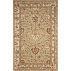 Found it at Joss & Main - Candace Green Oriental Wool Hand-Tufted Area Rug
