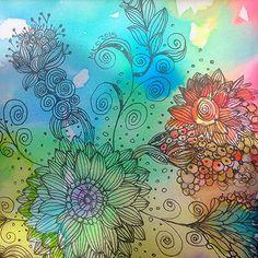 watercolor | by Kreative Karren