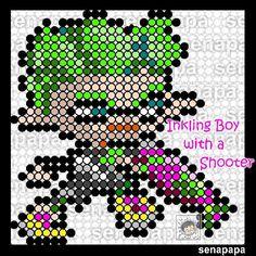 splatoon2 inkling boy perler
