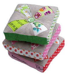 Pincushions: Red Pepper Quilts: Patchwork Please!