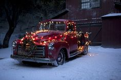 For a Christmas party (of the season), maybe borrow Dad's old Ford for this :o)