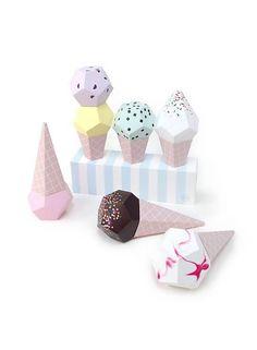 Rock & Pebble Paper Ice creams - Moonpicnic
