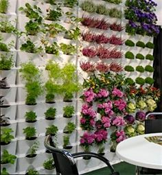 Orto verticale pensile Minigarden 64x14xh57 cm vaso giardino bianco: Amazon.it: Giardino e giardinaggio