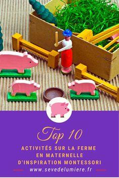 J'ai sélectionné nos 10 préférées, que je vous partage dans cet article ! Je vais vous parler de comment lier apprentissage et amusement avec les animaux de la ferme ! Enrichissez le vocabulaire, faites des exercices de grammaire et mêmes des mathématiques ! 👉 Pour en savoir plus, cliquez sur le lien de l'épingle ! ✨ #activitéferme #activitéenfant #activitématernelle