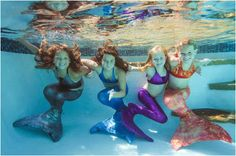 Mermaid Tails for your little Girls & their American Girl Dolls @Jennifer McCullar @Fin Fun Mermaid Mermaid Suit