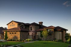 Tuscan Villa with Views - 9538RW   European, Mountain, Tuscan, Luxury, Photo Gallery, Premium Collection, 1st Floor Master Suite, Butler Walk-in Pantry, CAD Available, Courtyard, Jack & Jill Bath, Loft, Media-Game-Home Theater, PDF, Corner Lot, Sloping Lot   Architectural Designs