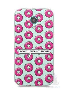 Capa Moto G2 Donut Touch My Phone