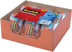 6-Pack of Scotch Heavy Duty Packaging Tape $8.92 (amazon.com)
